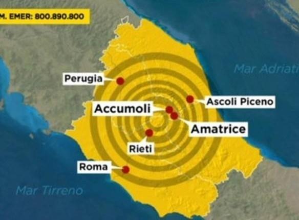 Un Canestro PER TE a sostegno dei terremotati del centro Italia