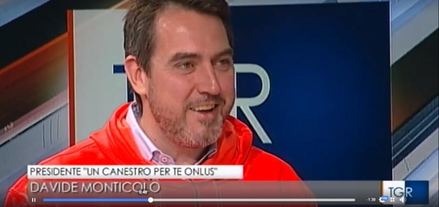 UN CANESTRO PER TE OSPITE DI RAI 3